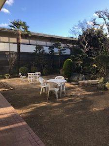 とにかく広い庭